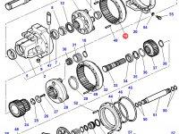 Коронная шестерня бортового редуктора заднего моста трактора Challenger — 3792702M2