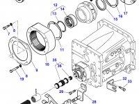 Вилка включения пониженной передачи КПП трактора Massey Ferguson — 3793461M2