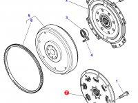Торсионный демпфер сцепления трактора Massey Ferguson — 3793648M1