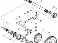 Вилка включения муфты ВОМ трактора Massey Ferguson — 3794216M3