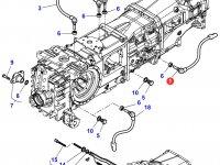 Датчик скорости оборотов ВОМ трактора Massey Ferguson (Длина 107 мм) — 3796040M1