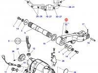 Правый рычаг навески трактора Massey Ferguson — 3796053M12