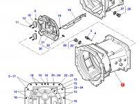 Картер КПП трактор Challenger (до серийного/двигателя №V329046) — 3796283M5