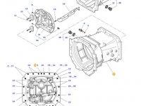 Картер КПП трактора Massey Ferguson(до серийного номера 15-11-2012) — 3796283M7