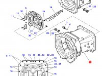 Картер КПП трактор Challenger  (до серийного номера 15-11-2012) — 3796283M7