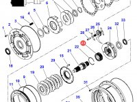 Шестерня мультипликатора КПП трактора Massey Ferguson — 3796293M3