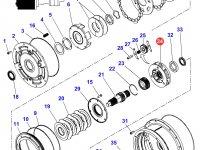 Планетарная передача мультипликатора КПП трактора Massey Ferguson — 3796294M8