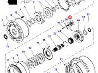 Шестерня мультипликатора КПП трактора Massey Ferguson — 3796297M3