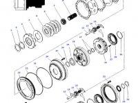 Вал мультипликатора КПП трактора Massey Ferguson — 3796319M1