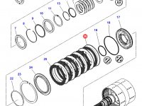 Фрикционный диск двойного сцепления КПП трактор Challenger — 3796342M1