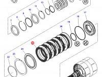 Фрикционный диск двойного сцепления КПП трактор Challenger — 3796343M1