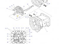 Крышка КПП трактора Massey Ferguson (DYNA 4/ DYNA 6) — 3796359M7