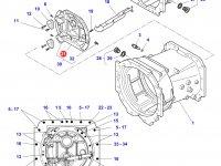 Крышка КПП трактора Challenger — 3796359M7