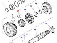 Шестерня передачи 1 КПП трактора Massey Ferguson — 3796368M2