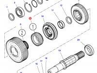 Шестерня передачи 1 КПП трактора Challenger (32 зуба) — 3796368M2
