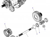 Промежуточный вал КПП трактор Challenger — 3796376M4
