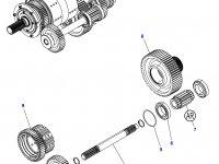 Промежуточный вал КПП трактор Challenger — 3796376M6