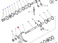 Вилка КПП трактора Challenger — 3796580M2