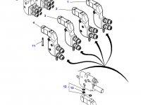 """Муфта гидравлическая быстроразъемная трактора Massey Ferguson (тип """"мама"""") — 3796940M2"""