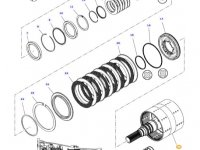 Вал двойного сцепления КПП трактора Massey Ferguson — 3797016M95