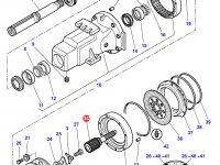 Солнечная вал-шестерня бортового редуктора заднего моста трактора Challenger — 3797136M1