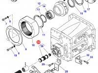 Вал понижающей передачи КПП трактора Massey Ferguson — 3797492M11