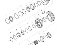 Шестерня передачи 1/3 КПП трактора Massey Ferguson — 3797936M3