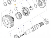 Шестерня передачи 1 КПП трактора Massey Ferguson — 3797939M2