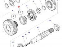 Шестерня передачи 1 КПП трактора Challenger (35 зубьев) — 3797939M2