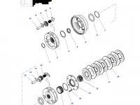 Шестерня мультипликатора КПП трактора Massey Ferguson — 3797975M3