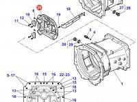 Крышка КПП трактора Massey Ferguson — 3798141M14