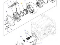 Солнечная шестерня понижающей передачи КПП трактора Massey Ferguson — 3798449M1