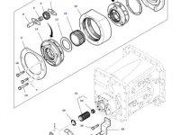 Сателлитная шестерня понижающей передачи КПП трактора Massey Ferguson — 3798452M1