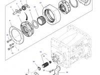 Вилка включения пониженной передачи КПП трактора Massey Ferguson — 3798456M2