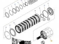 Вал двойного сцепления КПП трактора Massey Ferguson — 3799221M92