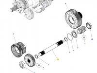 Промежуточный вал КПП трактора Massey Ferguson — 3799226M1