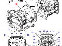Картер КПП трактора Massey Ferguson — 3799229M5