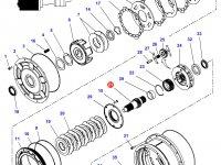 Вал мультипликатора КПП трактор Challenger (до серийного/двигателя № B319050) — 3799241M2