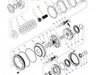 Вал мультипликатора КПП трактора Massey Ferguson — 3799244M2