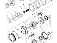 Планетарная передача мультипликатора КПП трактора Massey Ferguson — 3799247M3