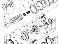 Планетарная передача мультипликатора КПП трактора Challenger — 3799247M3