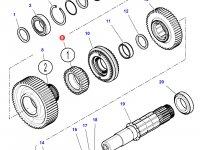 Шестерня передачи 1 КПП трактора Challenger (30 зубьев) — 3799331M1