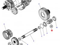 Шестерня реверса КПП трактора Challenger (18 зубьев) — 3799332M2