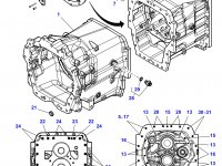 Крышка КПП трактора Challenger — 3799338M11