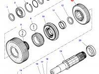 Шестерня передачи 3 КПП трактора Challenger (49 зубьев) — 3799341M2