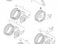 Задний колесный диск - DW15x34 (**) — 36129000