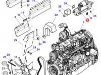 Стартер двигателя трактора Massey Ferguson — 3823621M91