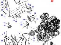 Стартер двигателя трактора Massey Ferguson — 3823621M94