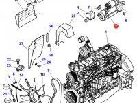 Стартер двигателя трактора Massey Ferguson — 3823621M96