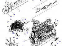 Стартер трактора Challenger — 3823621M96